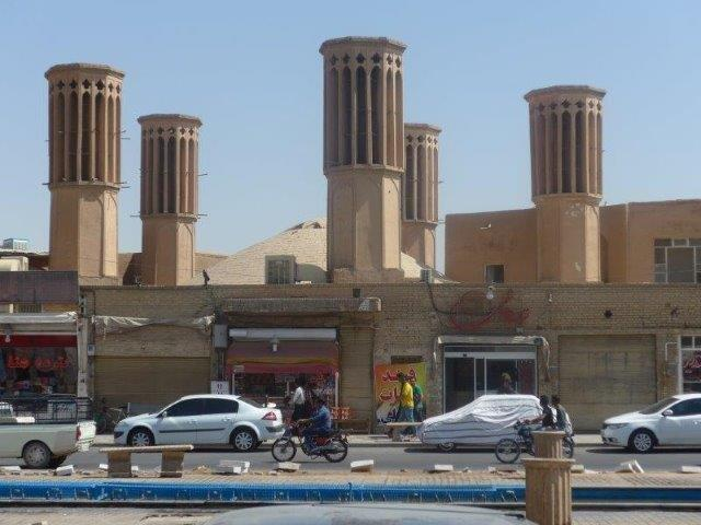 tours a vent - yazd